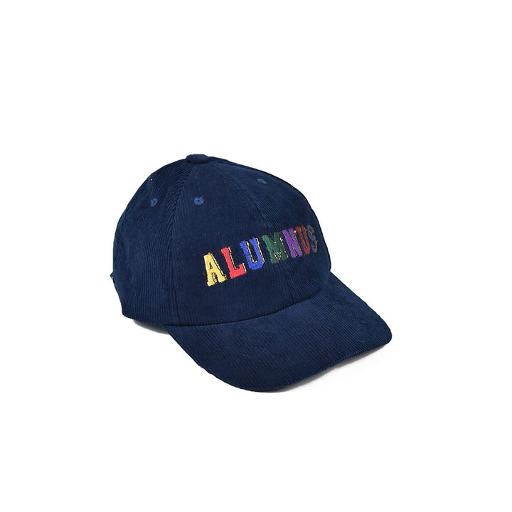 Multi Block Corduroy Hat - Navy