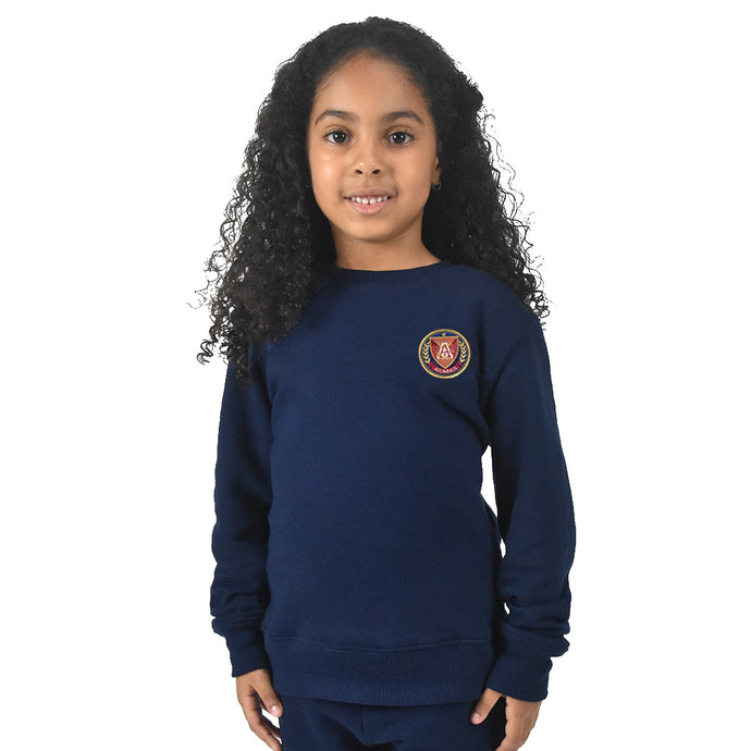 Kids Crewneck - Navy