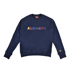 Multi-Colored Crewneck - Navy