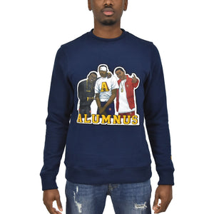 "Men's ""Paid In Full"" Crewneck Navy"