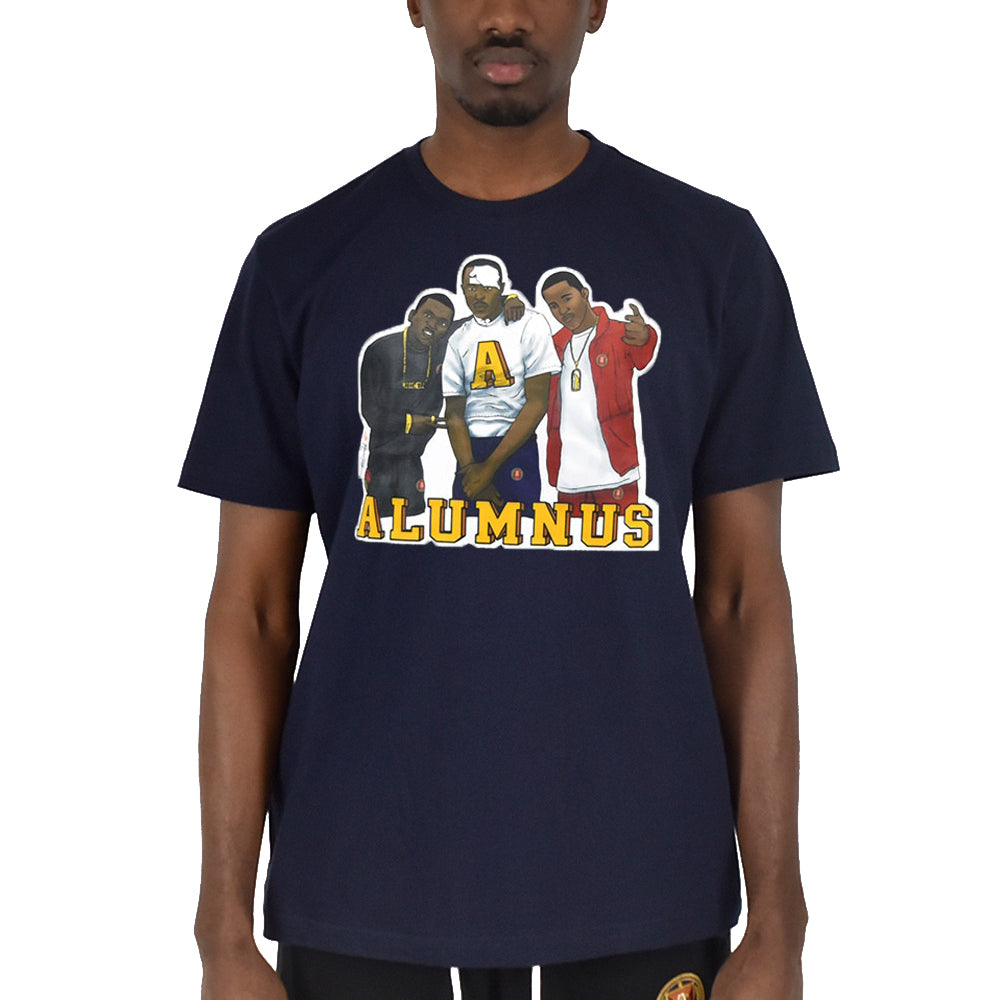 Paid In Full Graphic T-Shirt - Navy