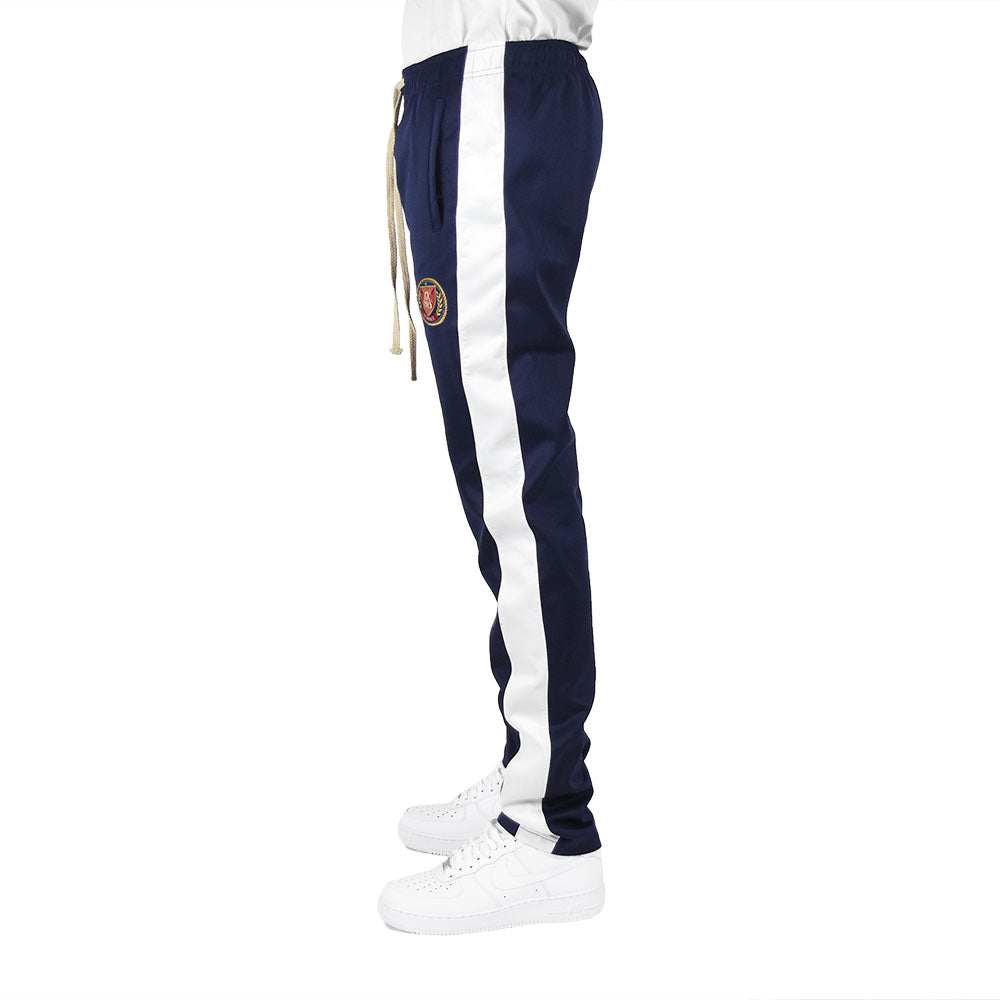 Men's Track Pants - Navy/White