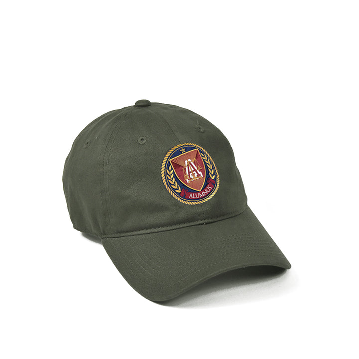 Center Seal Hat - Olive Green