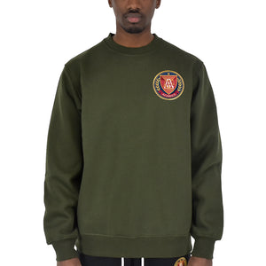 "Men's ""Big Logo"" Crewneck - Olive"
