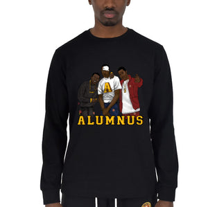 """Paid In Full"" Long Sleeve T-Shirt Black"