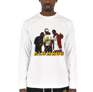 """Paid In Full"" Long Sleeve T-Shirt White"