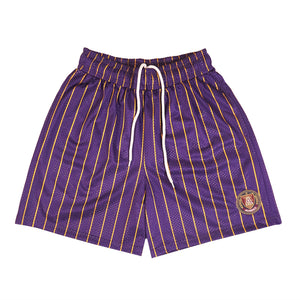 pinstripe-mesh-basketball-shorts-summer-purple-yellow-lakers