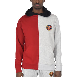 Men's Split Hoodie Red