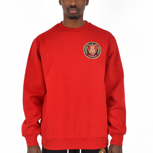 "Men's ""Big Logo"" Crewneck - Red"