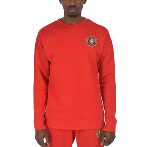 Men's Candy Red Crewneck