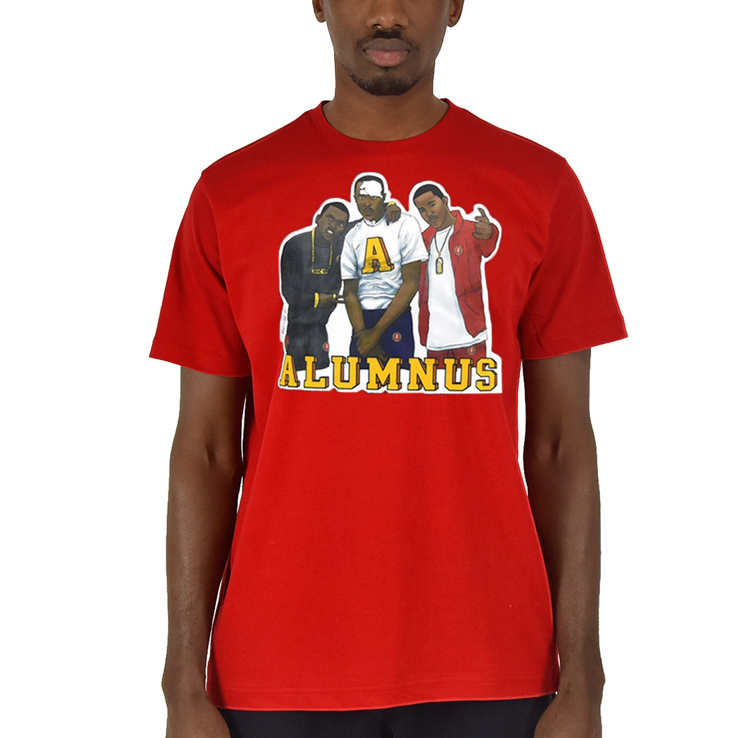 Paid In Full Graphic T-Shirt - Red