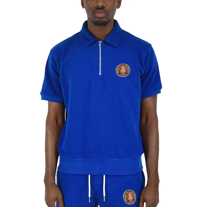 Men's Half Zip - Royal