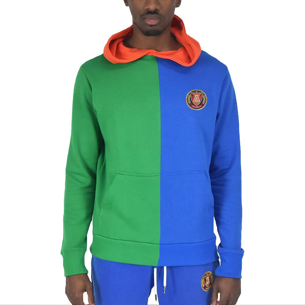 Men's Split Hoodie Royal