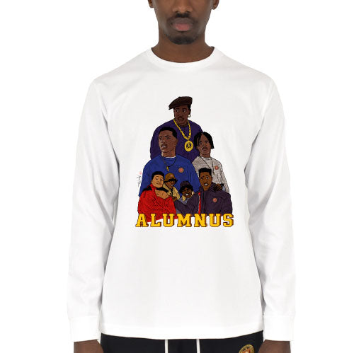 Thug Culture Long Sleeve T-Shirt White