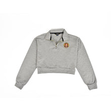Half-Zip Long Sleeve - Grey