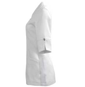 Women's swan collar labcoat # 8577 Select Uniform Collection