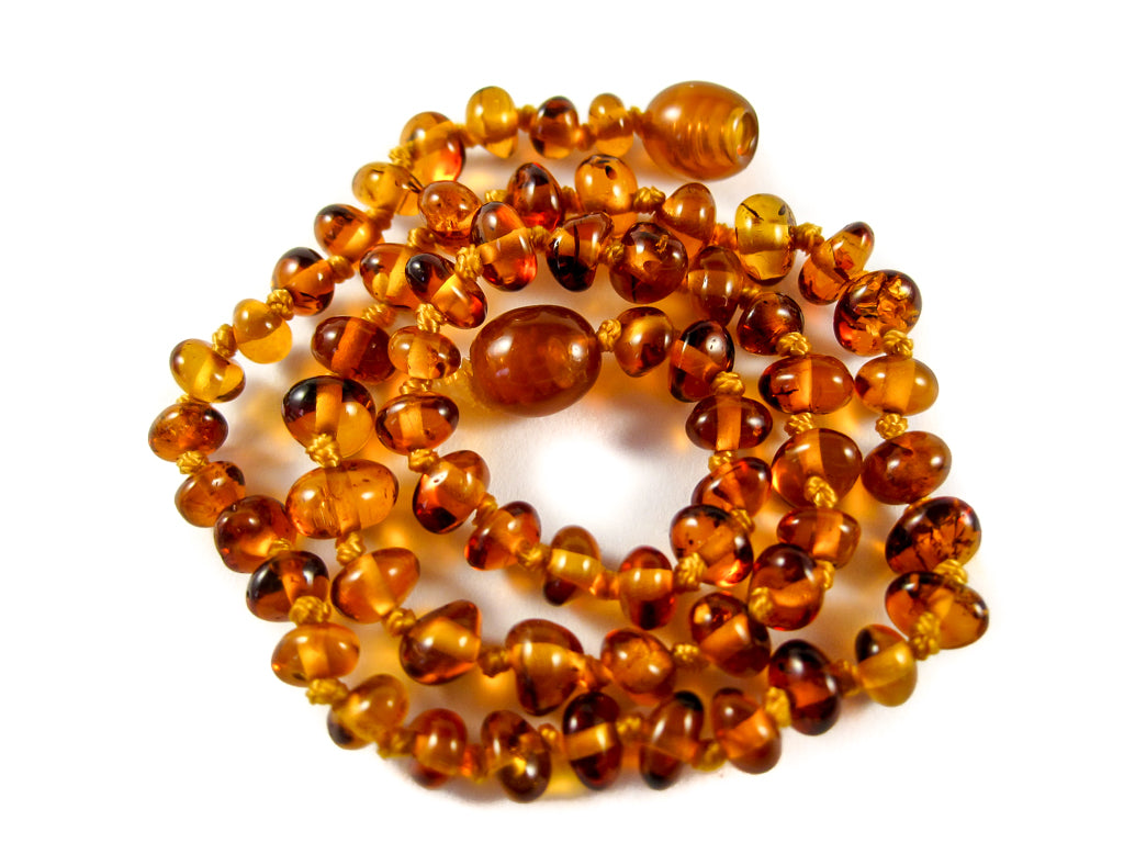 Genuine Handmade Amber Necklace, Cognac Beads, for Adults, Polished Beads, Gemstone, Healing properties, Nursing Mums, for Women