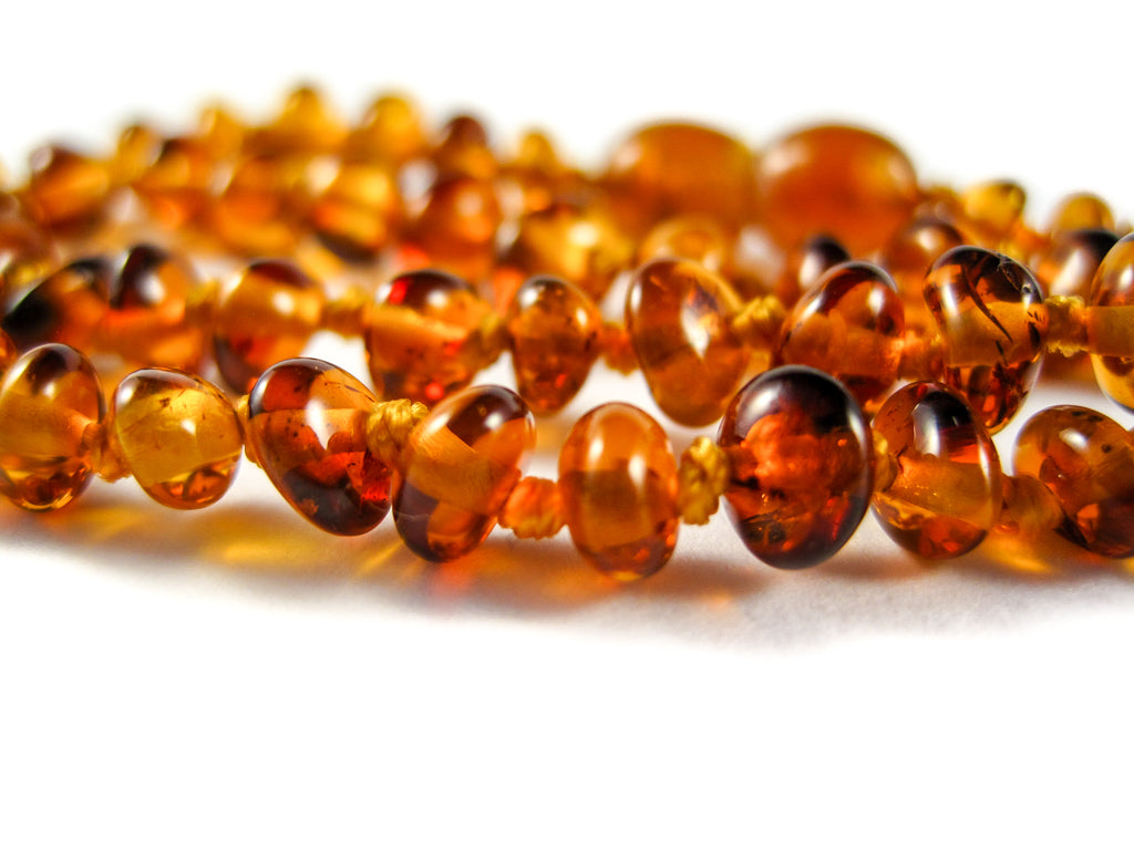 Genuine Handmade Amber Necklace, zoom, Cognac Beads, for Adults, Polished Beads, Gemstone, Healing properties, Nursing Mums, for Women