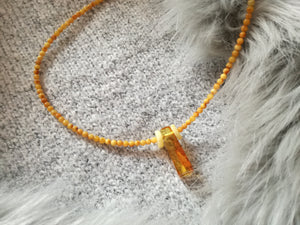 Genuine Handmade Baltic Amber Necklace for Adults, small polished milky beads, Healing properties, Nursing Mums, Gift for Women