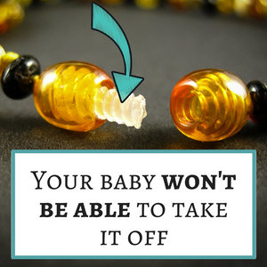 amber teething necklace safe - plastic screw clasp - complete guide 2018