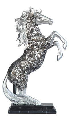 Decorative Silver Horse (Available U.S. Only)