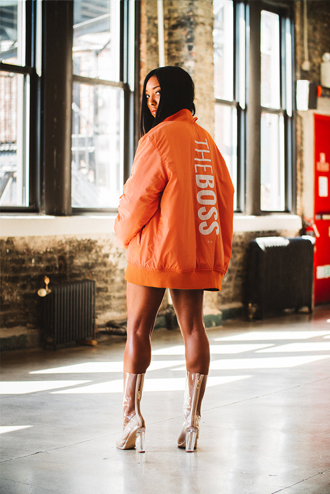 THE BOSS BOMBER JACKET - Shop for THE BOSS BOMBER JACKET - LADIES NATION