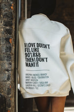 90's R'N'B LOVE JACKET - Shop for 90's R'N'B LOVE JACKET - LADIES NATION