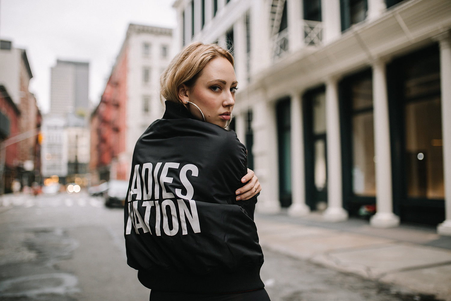 THE BOSS LADY BOMBER - Shop for THE BOSS LADY BOMBER - LADIES NATION