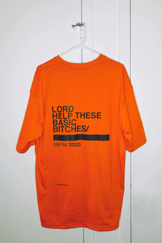 Basic Bitches T-Shirt - Neon Orange