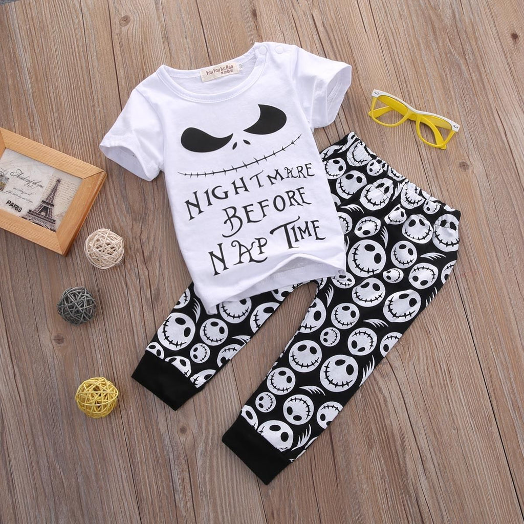 Skull Baby Outfit (2 pc)