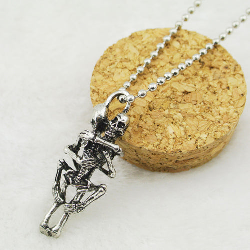 Skeleton Love Necklace