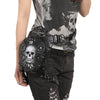 Retro Skull Waist And Shoulder Bag