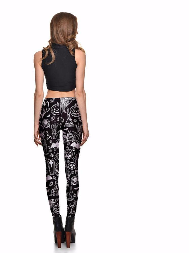 Ghost Skull Leggings