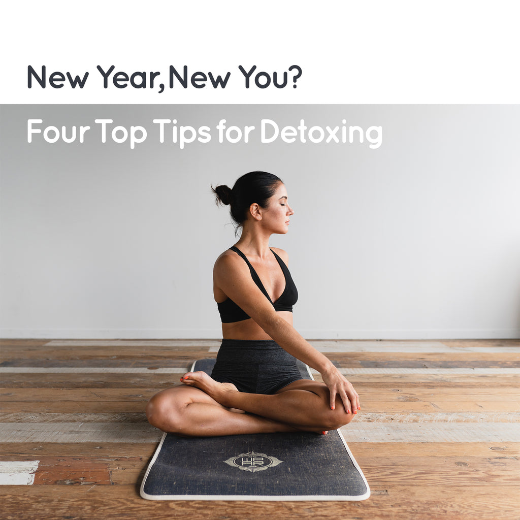 New Year, New You? Four Top Tips for Detoxing
