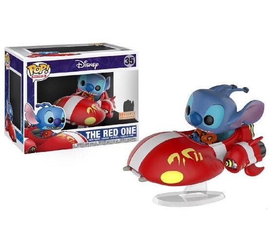 Pop Ride! Disney - Lilo & Stitch The Red One Vinyl Figure - BoxLunch Exclusive