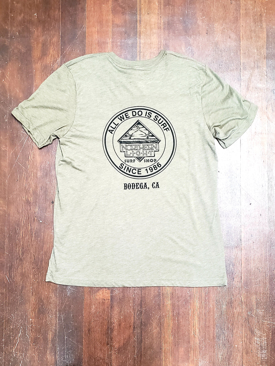 MEN'S TEE - ALL WE DO IS SURF