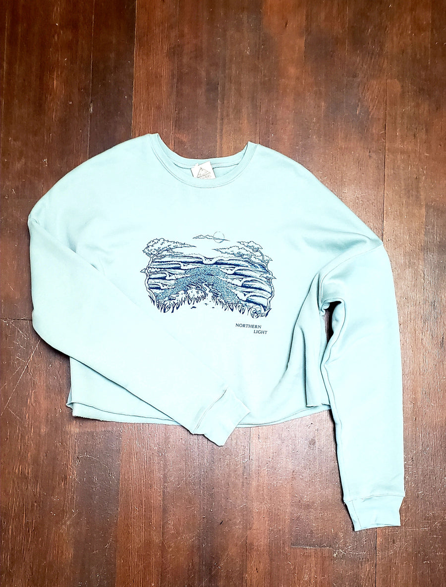 Women's Crop Crew Sweatshirt