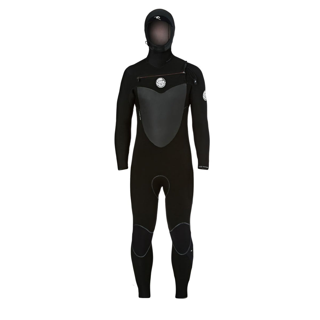 Rip Curl FLASHBOMB Chest Zip 5/4 Hooded Wetsuit