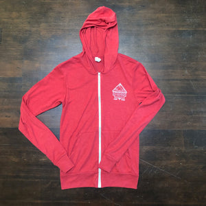 Light-weight Zip-up Hoodies