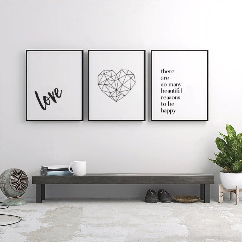 wedding anniversary love prints
