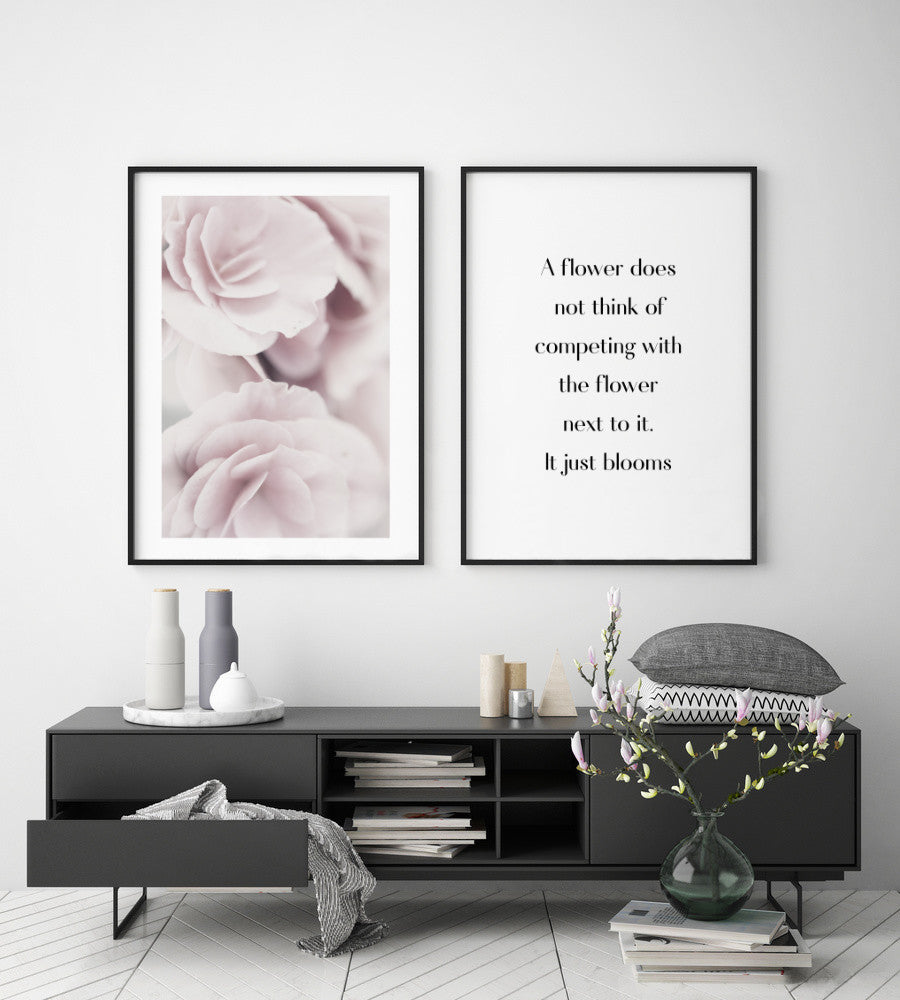 flower motivational prints
