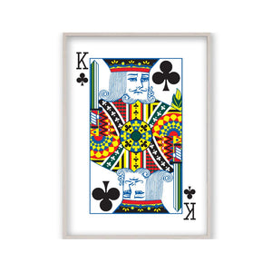 King Of Clubs Print