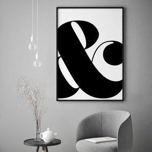 Ampersand And Print - Blim & Blum