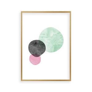 Bubbles Watercolor Print - Blim & Blum