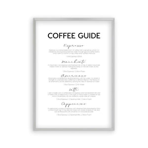 Coffee Guide Print - Blim & Blum
