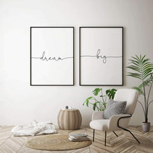 Load image into Gallery viewer, Dream Big - Set Of 2 Prints - Blim & Blum