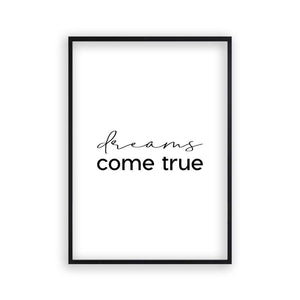 Dreams Come True Print - Blim & Blum
