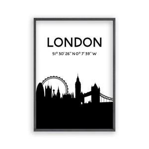 London Skyline Print - Blim & Blum