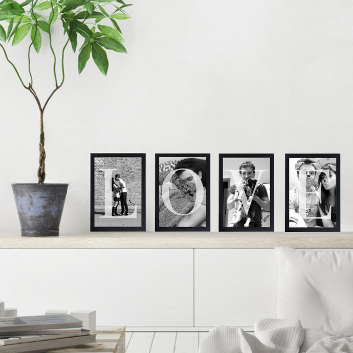 Love Letters Photo - Set Of 4 - Blim & Blum