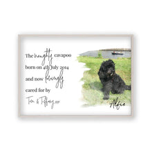 Load image into Gallery viewer, Personalized Pet Photo Print - Blim & Blum